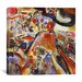 """iCanvas """"Small Pleasures"""" by Wassily Kandinsky Painting Print on Canvas"""