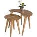 HL Design 2-tlg. Satztisch-Set Britta