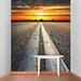 The Binary Box Road To The Horizon Self Adhesive Wallpaper