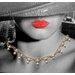 Innova Glitter Manhattan Lady Graphic Art Wrapped on Canvas
