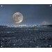 Innova Full Moon Tempered Glass Photographic Print