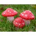 Derry's 3 Piece Decorative Christmas Toadstools Set