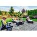 Green Decore Nirvana Grey Indoor/Outdoor Area Rug