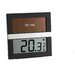 Green Wash Solar Powered Digital Thermometer