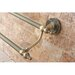 "Kingston Brass Templeton 24"" Wall Mounted Double Towel Bar"