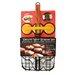 Charcoal Companion 3 Piece Deluxe Mini Burger Set