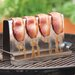 Charcoal Companion Stainless Bacon barbecuing Rack
