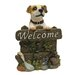 Design Toscano Jack Russell Welcome Garden Sign