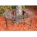 Design Toscano Gothic Garden Division Steel Circular Tree Seat