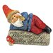 Design Toscano Gideon Gnome Welcome Sign Statue