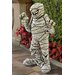 Design Toscano Statue Wrapped Too Tight Mummy