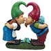 Design Toscano Statue Kiss and Tell Lover Gnomes