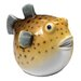 Design Toscano Statue Portly Pufferfish