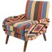 Ian Snow Wool and Cotton Traveller Armchair