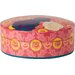 Ian Snow Hand Painted Round Papier Mache Box