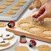 Cake Boss Everyday Linzer 6 Piece Cookie Cutter Set