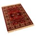 Barefoot Artsilk Rugs Indian Agra Hand-Woven Red Area Rug