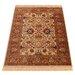 Barefoot Artsilk Rugs Indian Agra Brown Area Rug