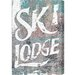 Alpen Home Ski Lodge by Blakely Home Typography on Canvas