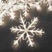 Konstsmide LED-Schneeflocken-Lichterkette