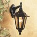Firstlight 6 PANEL 1 Light Outdoor Sconce
