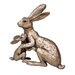 Frith Sculpture Tulip and Thimble Welcome Back Figurine