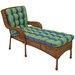 Blazing Needles Haliwall Outdoor Chaise Lounge Cushion