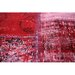 Happy Friday Hand-Woven Red Area Rug