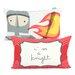Happy Friday Knight Cushion Cover
