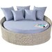 Port Royal Rural Daybed with Cushion