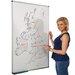Metroplan Magnetic Wall Mounted Whiteboard, 120cm H x 90cm W