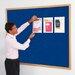 Metroplan EF Wall Mounted Bulletin Board