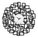 All Home Abstract Squares Wall Clock