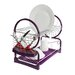 All Home 2 Tier Dish Drainer with Tray II