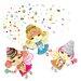 Wallies Murals & Cutouts Sweet Dreams Fairies Wall Stickers