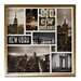 Arthouse Big City Dream Montage Glassless Framed Photographic Print