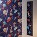 Arthouse Imagine Fun Starship Printed Canvas Growth Chart