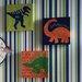 Arthouse Imagine Fun Dino Doodles Printed Canvas Art Set (Set of 3)