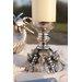 Culinary Concepts Seashore Metal Candlestick