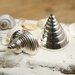 Culinary Concepts Seashore Conch & Cone Cruet Set