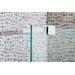 Cassellie 183.5cm x 30cm Hinged Shower Door