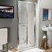 Cassellie 185cm x 84.5cm Folding Shower Door
