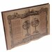 Inart Wooden Wall Decor-Book