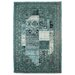 Inart Chenille Blue/Grey Area Rug