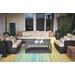 Fab Habitat Cancun Hand-Woven Green Indoor/Outdoor Area Rug