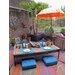 Fab Habitat Cancun Hand-Woven Multi-Coloured Indoor/Outdoor Area Rug