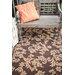 Fab Habitat Versailles Hand-Woven Brown Indoor/Outdoor Area Rug