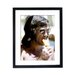 Culture Decor George Best Framed Photographic Print