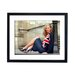 Culture Decor Kate Moss Union Jack Framed Photographic Print