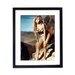 Culture Decor Raquel Welch Framed Photographic Print